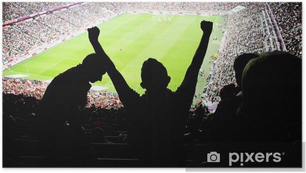 Plakat Kibice stadion - Artykuły sportowe