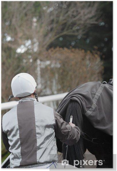Plakat Kierowca i jego koń - Sporty indywidualne