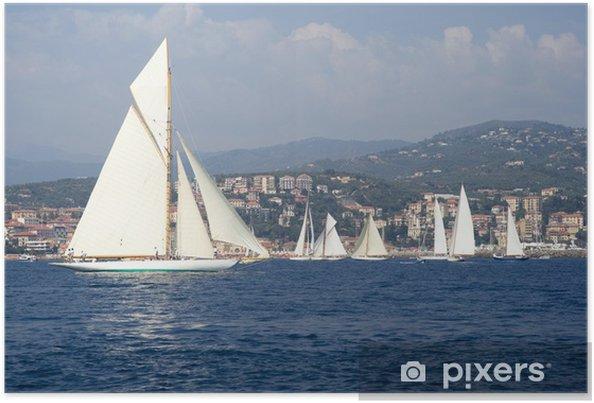Plakat Klasyczna Yacht Regatta - Sporty wodne