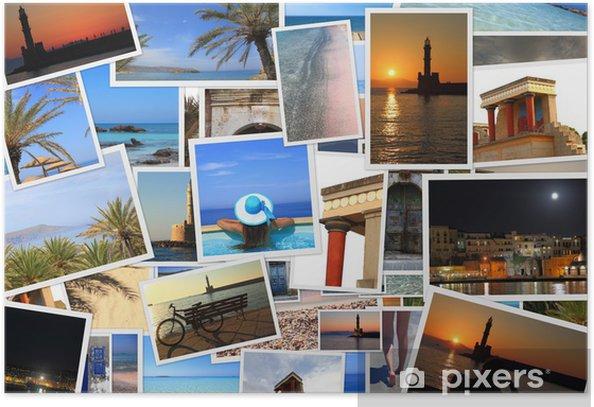 Plakat Kolekcja zdjęć wyspie Krecie - Europa