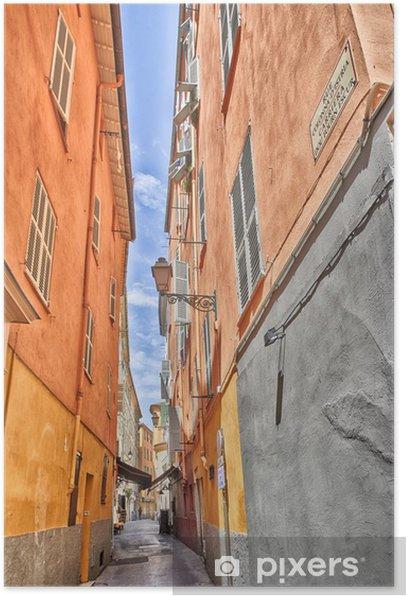 Plakat Kolorowa ulica -