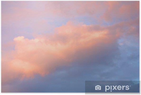 Plakat Kolorowe niebo - Niebo