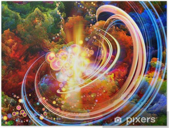 Plakat Kolory Wewnątrz - Sztuka i twórczość