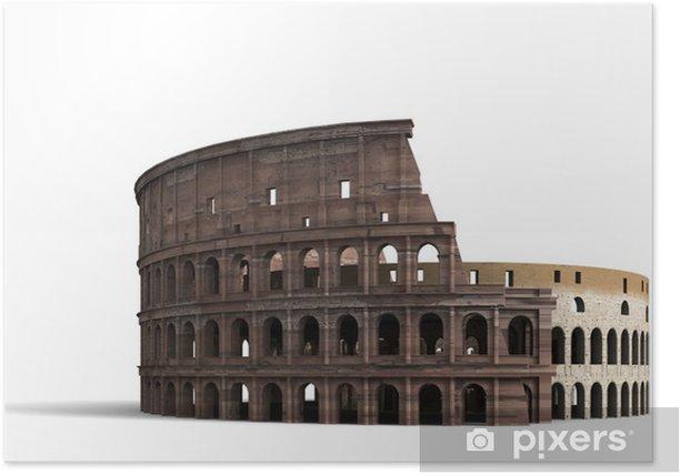 Plakát Koloseum Řím - Prázdniny