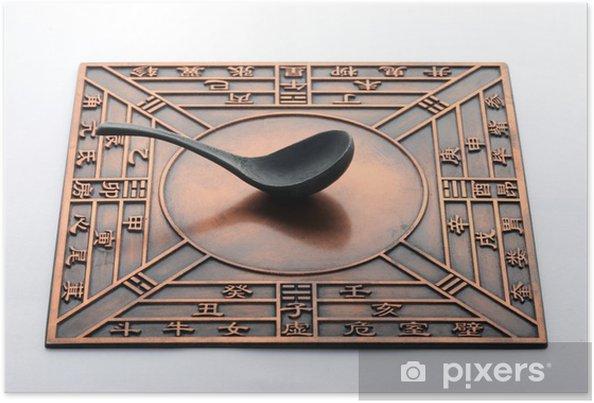 Plakát Kompas, čínské tradiční kultuře - Zdraví a medicína