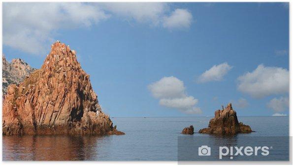 Plakat Korsyka - Woda