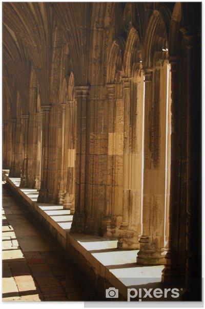 Plakat Korytarze katedra canterbury - Zabytki