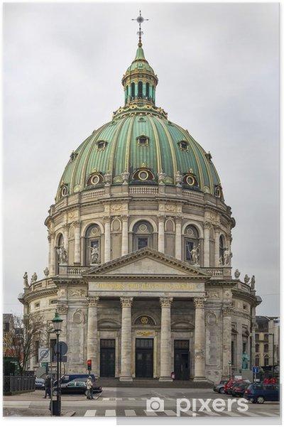 Plakat Kościół Frederika, Kopenhaga - Tematy