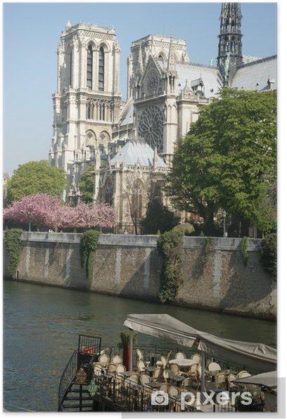 Plakat Kościół pomnik paris 12 - Miasta europejskie