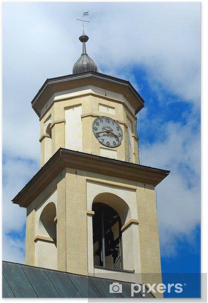 Plakat Kościół SS. Antonio Abate, Livigno - Wakacje