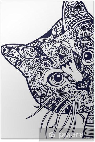 Plakat Kot - Zwierzęta