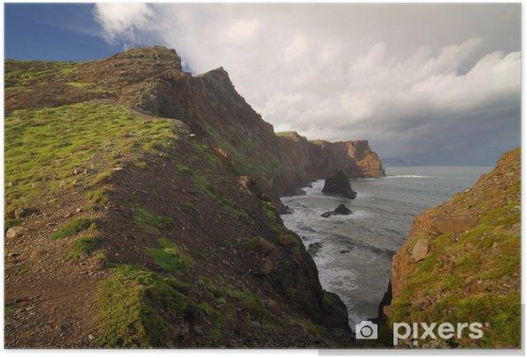 Plakát Krajina na ostrově Madeira. - Evropa