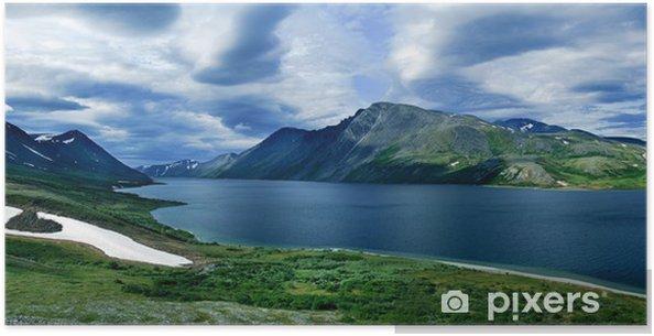 Plakát Krajina Polar Uralu - Asie