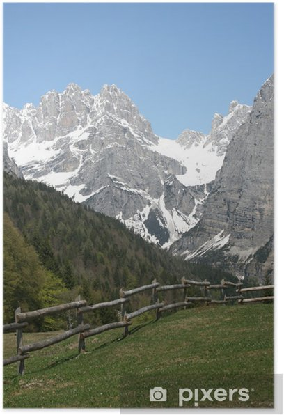 Plakat Krajobraz Dolomity - Europa