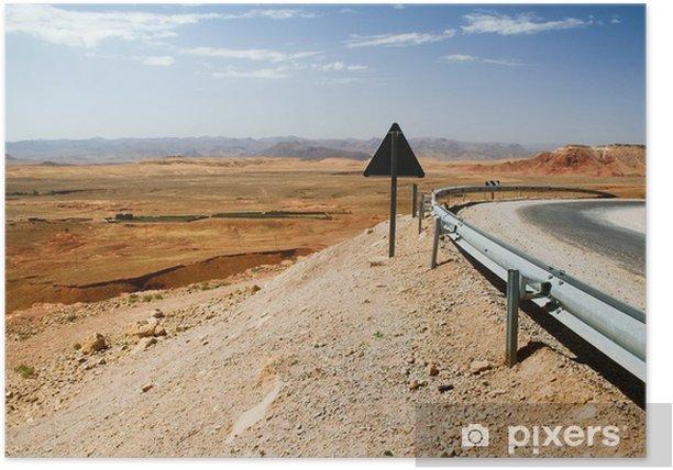 Plakat Krajobraz Marokańska - Afryka