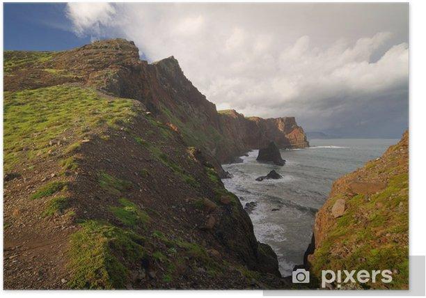 Plakat Krajobraz na wyspie Madera. - Europa