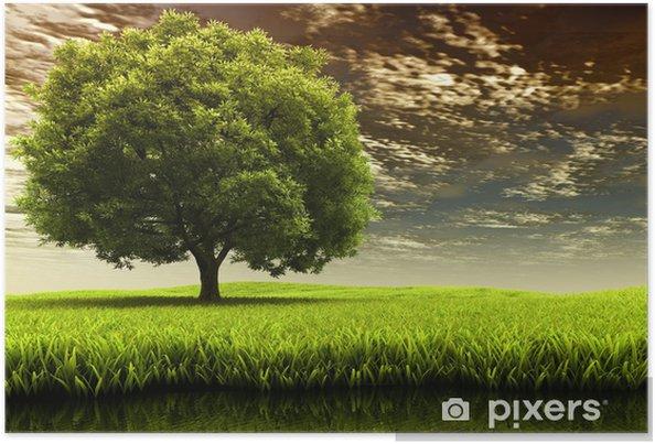 Plakat Krajobraz wiosna - Przeznaczenia
