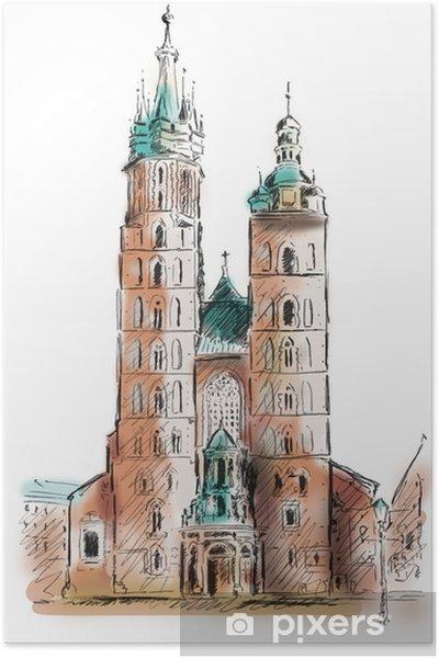 Plakát Krakov Kraków - Témata