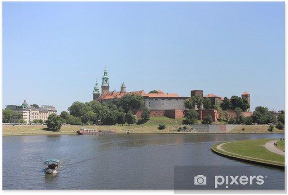 Plakat Krakow: Wawel Royal Castle, Poland - Europa