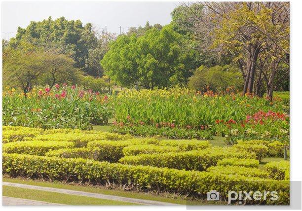 Plakát Krásná zahrada - Rostliny