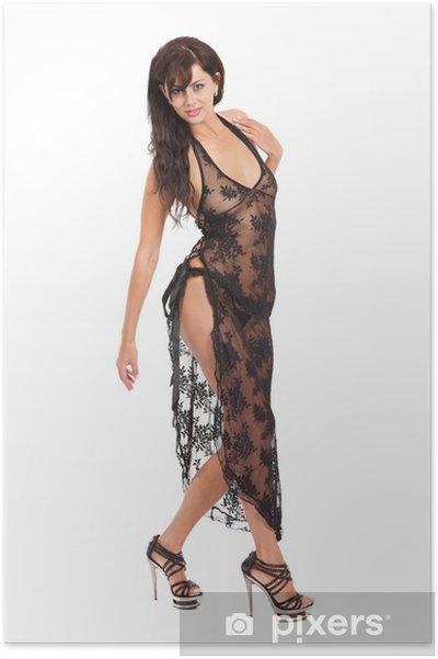 e3e4971d0 Plakát Krásná žena nosí sexy oblečení • Pixers® • Žijeme pro změnu