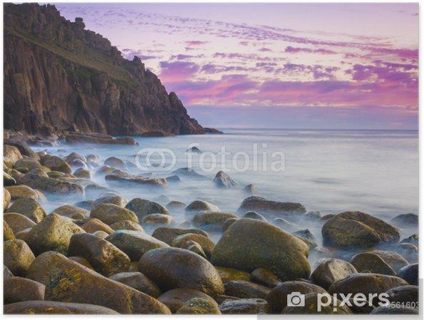 Plakát Krásné Cove At Dusk - Evropa
