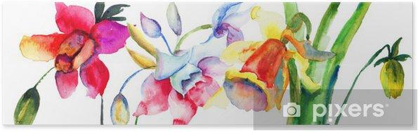 Plakát Krásné květy v létě - Květiny