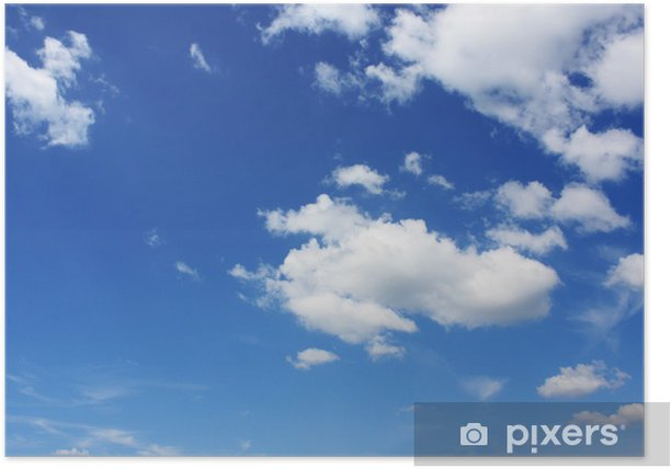 Plakát Krásné počasí - Nebe