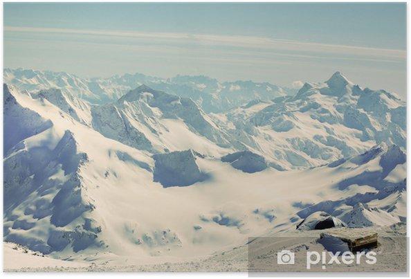 Plakát Krásný výhled na hory - Situace v podnikání