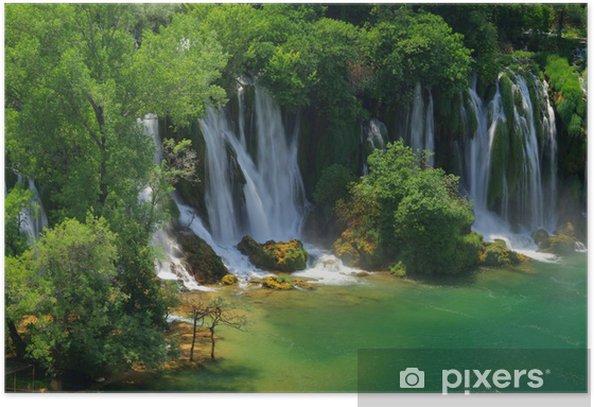 Plakat Kravica wodospady wodospad Kravica 14 - - Europa