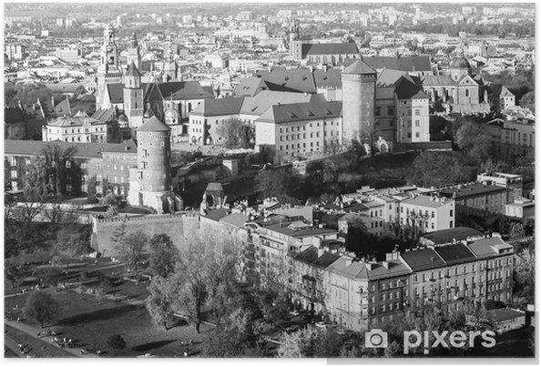 Plakat Królewski Wawel z parku w Krakowie - Tematy