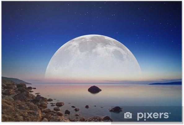 Plakat Księżyc pełnej wzrost - Tematy