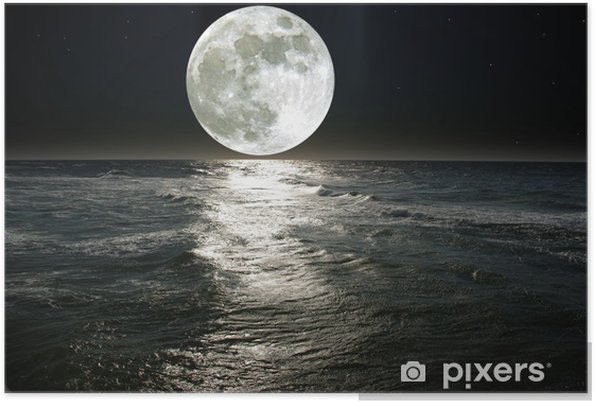 Plakat Księżyc - Przeznaczenia