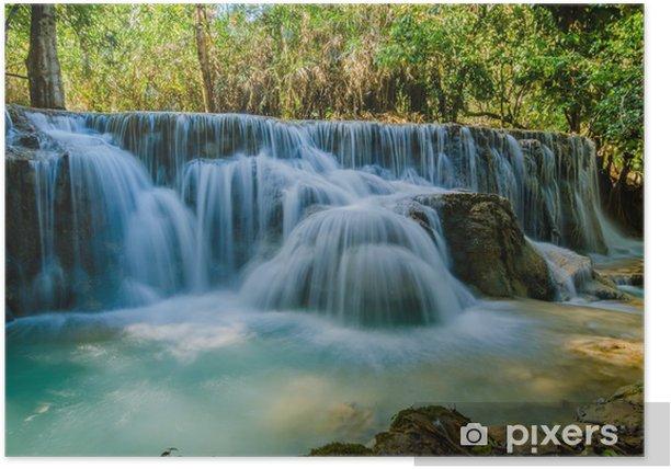 Plakat Kuang nie wodospad, Tad Angsi - Azja