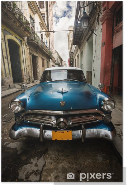 Plakat Kuba rocznika -