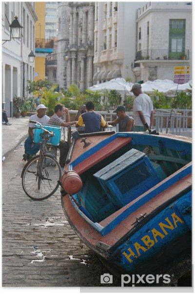 Plakat Kuba - Przemysł ciężki