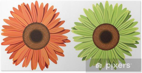 Plakát Květiny vektor - Květiny