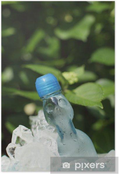Plakat Kwas węglowy pić wodę - Woda mineralna i napoje gazowane