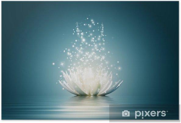 Plakat Kwiat lotosu - Style