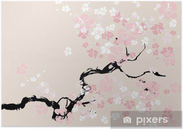Plakat Kwiat wiśni - Tematy