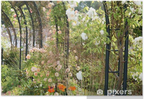 Plakat Kwiecistych łuki - Kwiaty