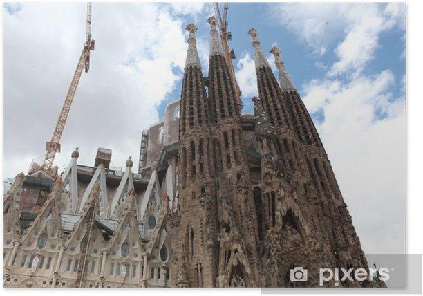 Plakát La Sagrada Familia - impozantní ca - Jiné