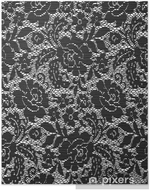 Plakat Lace Cloth - Moda
