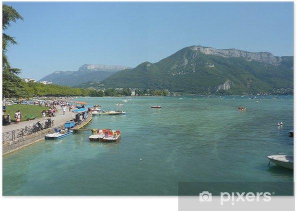 Plakat Lago Annecy - Europa