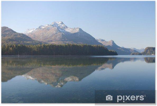 Plakát Lago Sils - Engadina (Svizzera) - Evropa