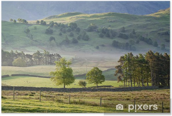 Plakát Lake District, Cumbria, Spojené království - Evropa