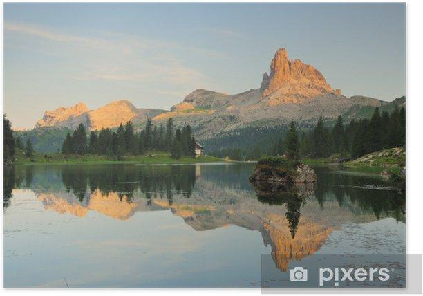 Plakat Lake Federa - Góry