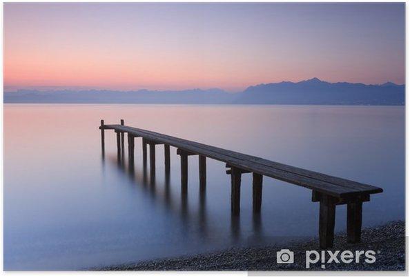 Plakat Lake Geneva, Switzerland - Podróże