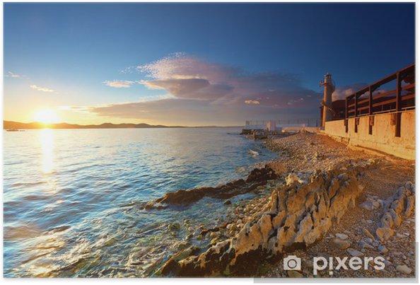 Plakat Latarnia morska w Zadarze - Latarnia morska