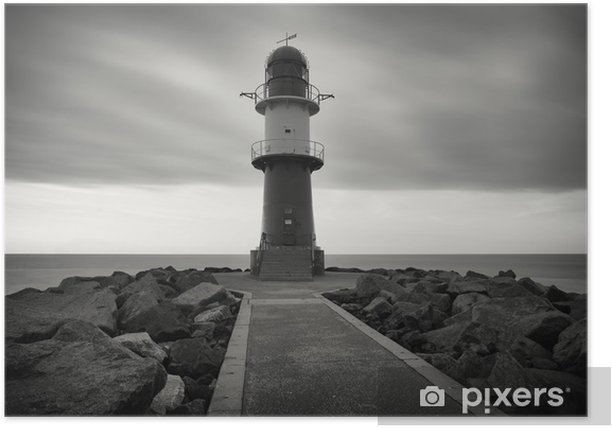 Plakat Latarnia morska - Inne pejzaże